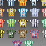 """Projekt emblematów na potrzeby Halowej Ligi Piłki Nożnej """"Stalex Liga"""" 2011/2012"""