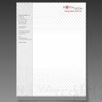 Projekt i wydruk papieru firmowego dla firmy NOVA-TECH