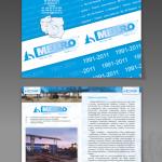 Projekt i wykonanie foldera dla firmy MEKRO Sp. z o.o.