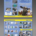 Projekt i wykonanie foldera dla firmy VITEC