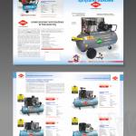 Projekt i wykonanie foldera dla firmy AIRPRESS