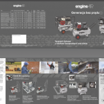 Projekt foldera dla firmy ABAC AIR COMPRESSORS