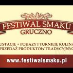 Baner informacyjny na imprezę pt. Festiwal Smaku