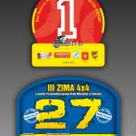 Projekt i wykonanie numerów startowych dla grupy Pasjonaci 4x4