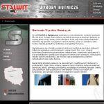 Projekt strony internetowej dla firmy STALWIT ŚWIECIE - HURTOWANIA WYROBÓW HUTNICZYCH