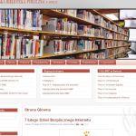 Wdrożenie i oprawa graficzna dla MIEJSKA BIBLIOTEKA PUBLICZNA w ŚWIECIU