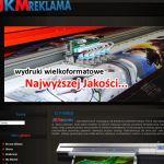 Wdrożenie i oprawa graficzna dla firmy JKM REKLAMA