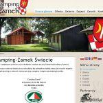 Wdrożenie i oprawa graficzna dla firmy CAMPING-ZAMEK
