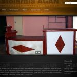 Wdrożenie i oprawa graficzna dla firmy STOLARNIA AGAN