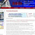 Projekt strony internetowej dla firmy TERMOWIZJA BUDSYSTEM