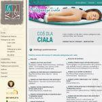 Projekt strony internetowej dla firmy STUDIO URODY & SPA