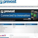 Wdrożenie i oprawa graficzna serwisu dla firmy PREVOST POLSKA