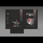 Wykonanie teczki dla firmy STALWIT - WYROBY HUTNICZE