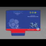 rojekt i wykonanie teczki dla firmy WDA FUTBOL BUSINESS CLUB