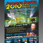 Projekt i wydruk plakatu dla firmy DEVIL PUB