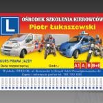 Projekt i wydruk ulotki dla firmy OSK PIOTR ŁUKASZEWSKI