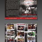 Projekt i wydruk ulotki dla firmy FATHERS' VILLAGE