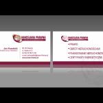 Projekt i wykonanie wizytówki dla firmy KANCELARIA PRAWNO-FINANSOWA LAASER S.C.