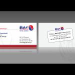 Projekt i wykonanie wizytówki dla firmy RAF-MIX RAFAŁ GÓRSKI