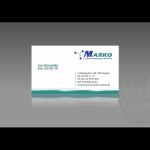 Projekt i wykonanie wizytówki dla firmy MARKO